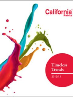 California Paints: Trend Selection Guide 2012/2013